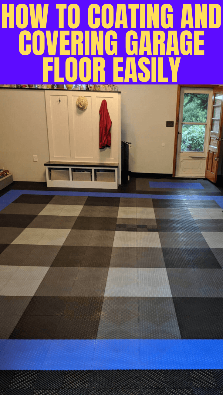 HOW TO COATING AND COVERING GARAGE FLOOR EASILY