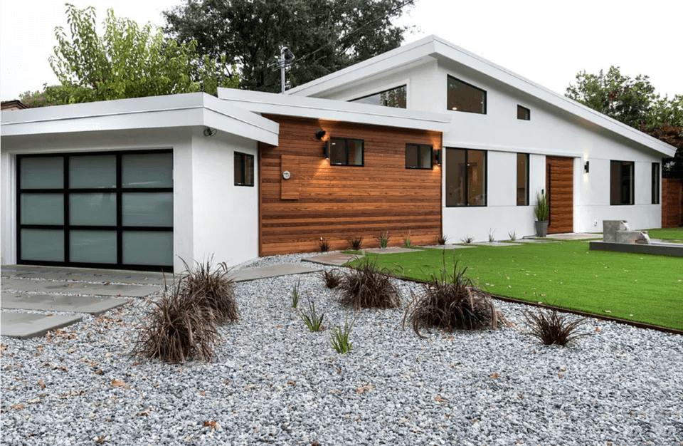 MODERN TWIST GARAGE DOOR DESIGN IDEAS