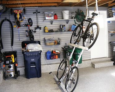 MOST POPULAR GARAGE BIKE STORAGE DESIGN IDEAS