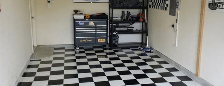 MOST POPULAR EASY DIY GARAGE FLOOR OPTIONS