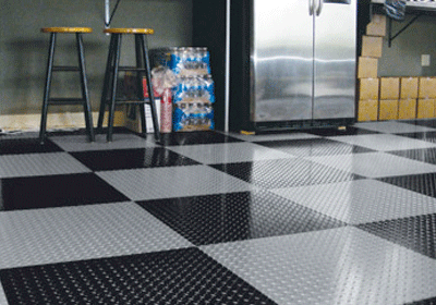 PEEL AND STICK GARAGE FLOOR TILE IDEAS