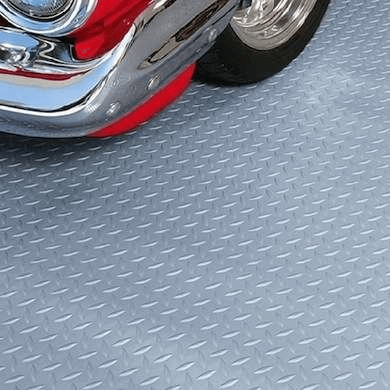 ROLL OUT VINYL GARAGE FLOORING OPTIONS
