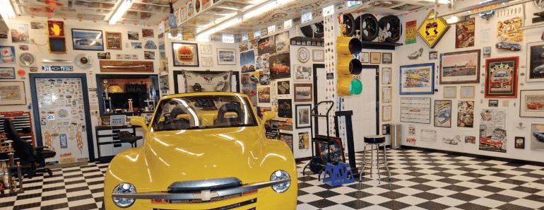 4 Garage Wall Décor Ideas