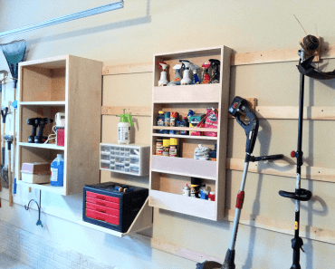 DIY GARAGE SHELVES DESIGN IDEAS