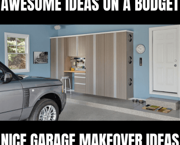 AWESOME GARAGE MAKEOVER IDEAS ON A BUDGET