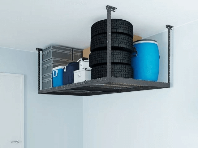 CEILING SOLUTION SMALL GARAGE APARTMENTS STORAGE IDEAS