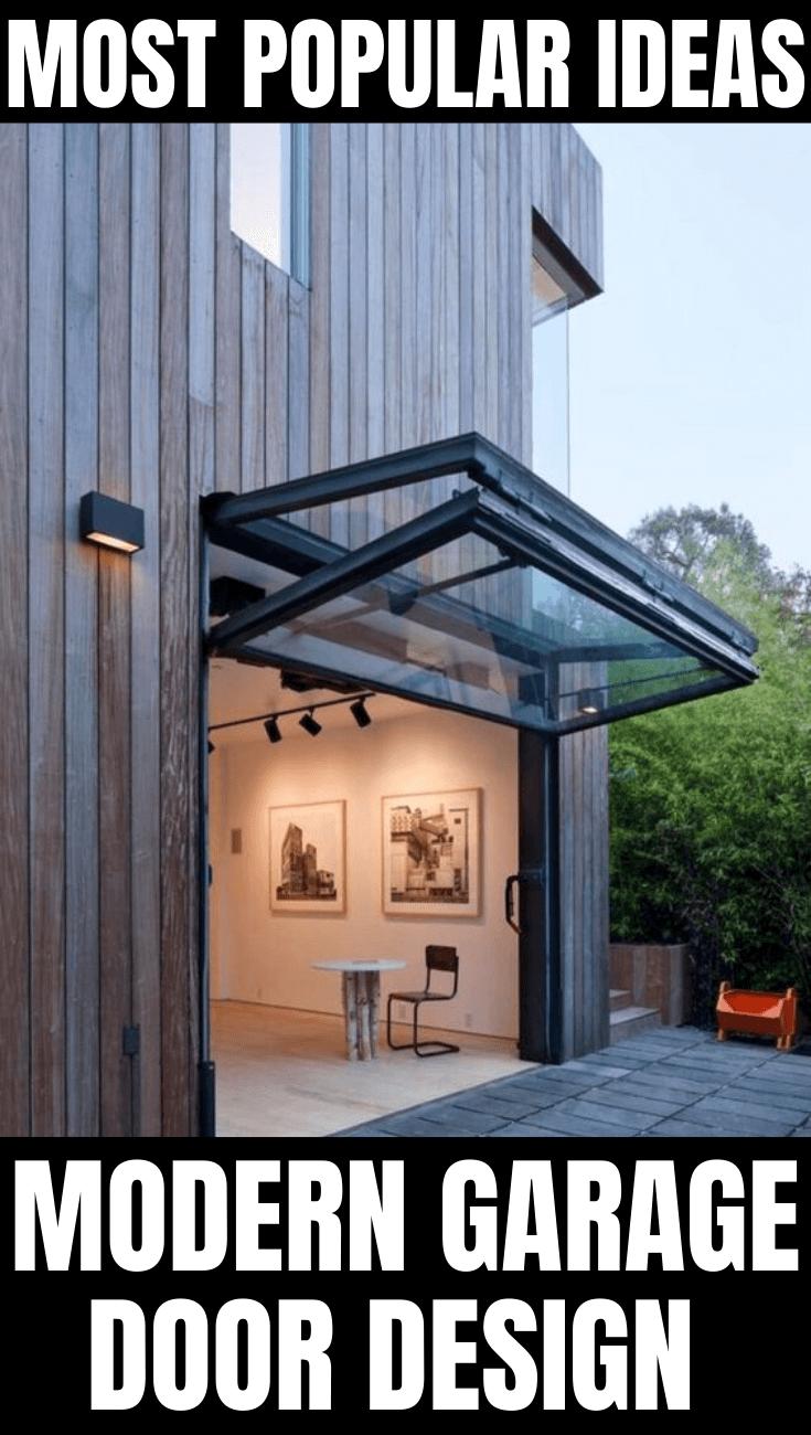 MOST POPULAR IDEAS MODERN GARAGE DOOR DESIGN