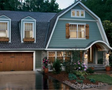 AWESOME FARMHOUSE GARAGE DOOR DESIGN IDEAS