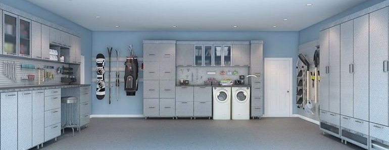 AWESOME GARAGE LAUNDRY ROOM DESIGN IDEAS