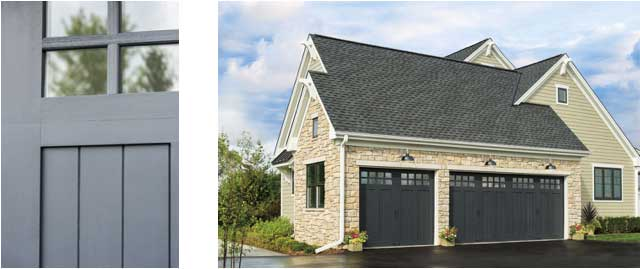 CONTRAST FARMHOUSE GARAGE DOOR DESIGN IDEAS