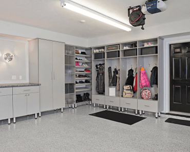 GARAGE MUDROOM STORAGE IDEAS