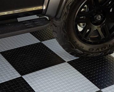 GARAGE NITRO FLEX TILES FLOORING IDEAS