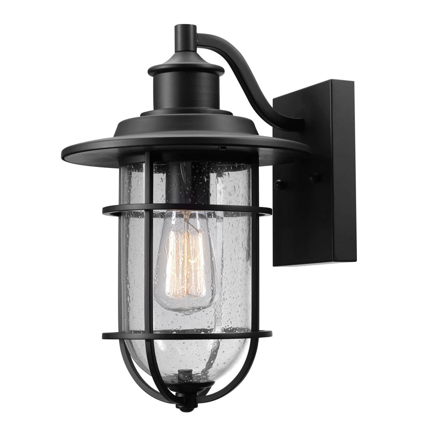 GLOBE ELECTRIC WALL SCONCE FOR OUTDOOR GARAGE LIGHTING