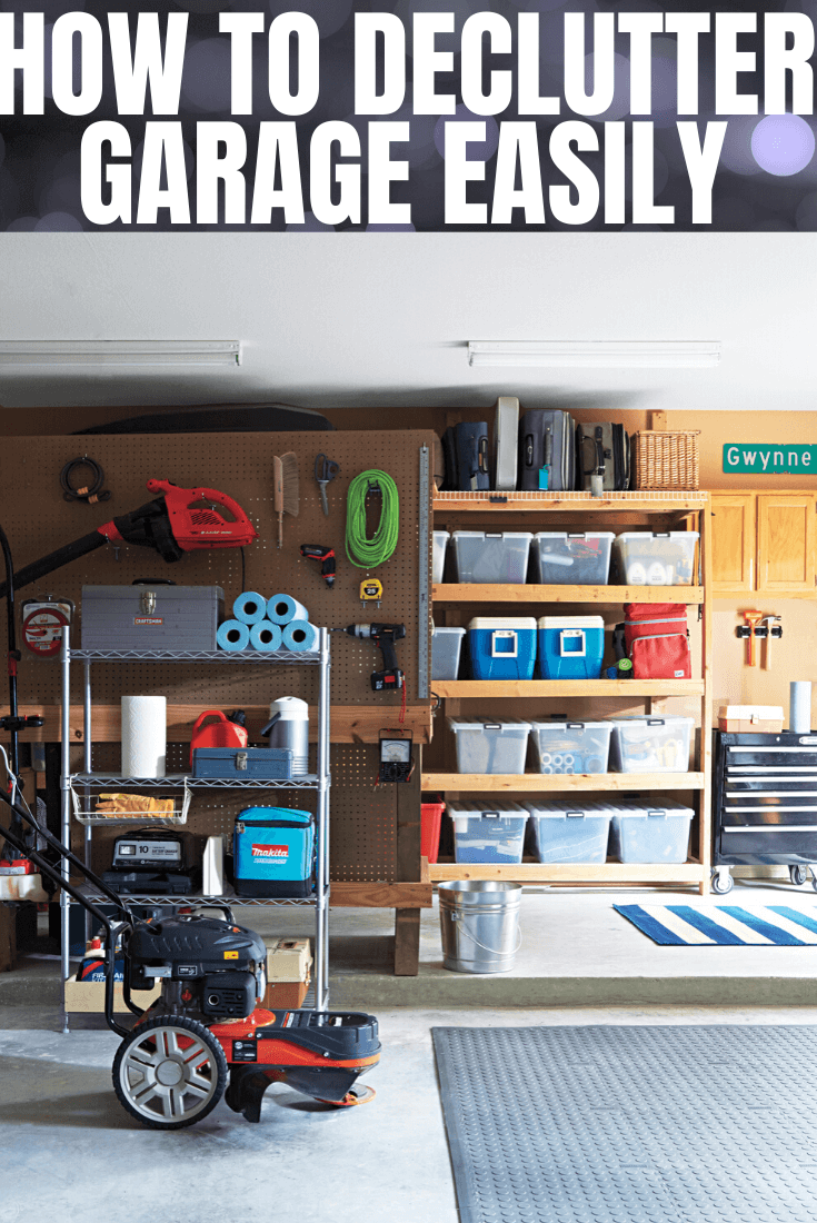 HOW TO DECLUTTER GARAGE EASILY