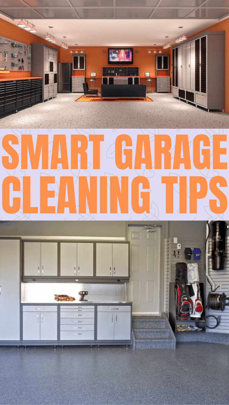 SMART GARAGE CLEANING TIPS