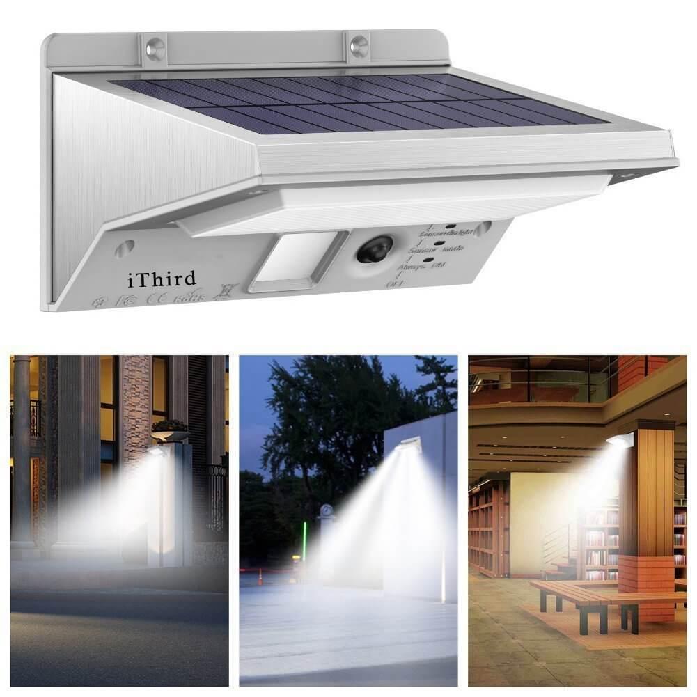 SOLAR LIGHTS WATERPROOF OUTDOOR GARAGE LIGHTING IDEAS