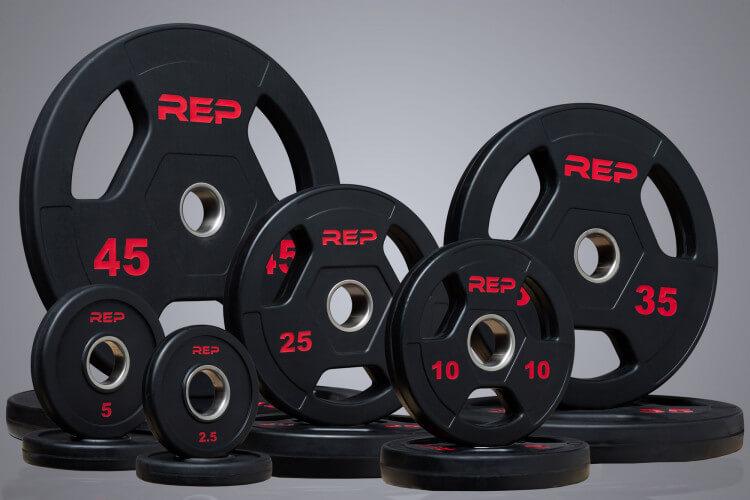 Attached Weight Plates GARAGE GYM EQUIPMENT