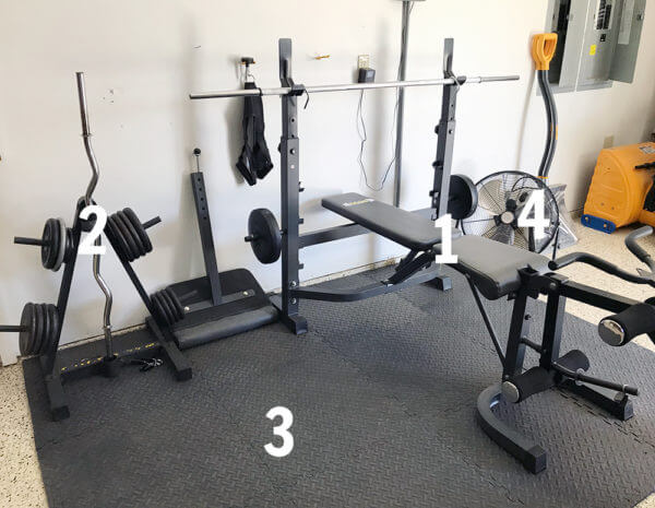GARAGE GYM EQUIPMENT YOU SHOULD HAVE