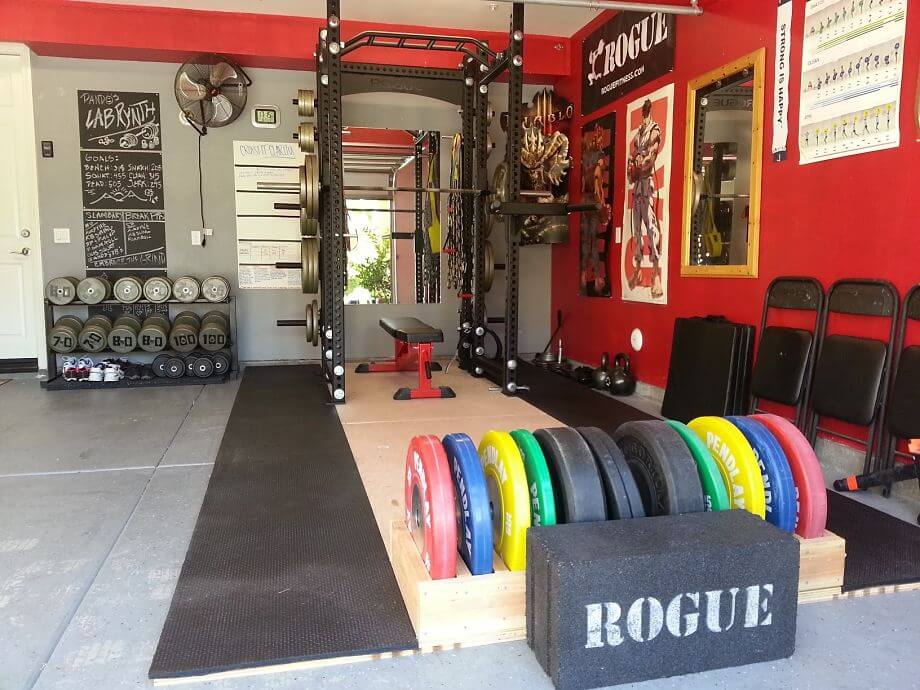How to Set Affordable Garage Gym