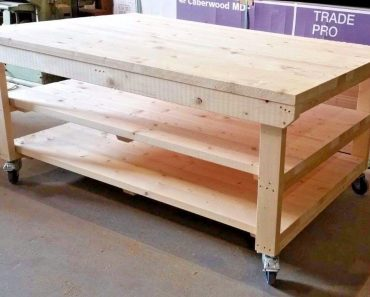 HOW TO BUILD A GARAGE WORKBENCH: ONE-DAY DIY PROJECT