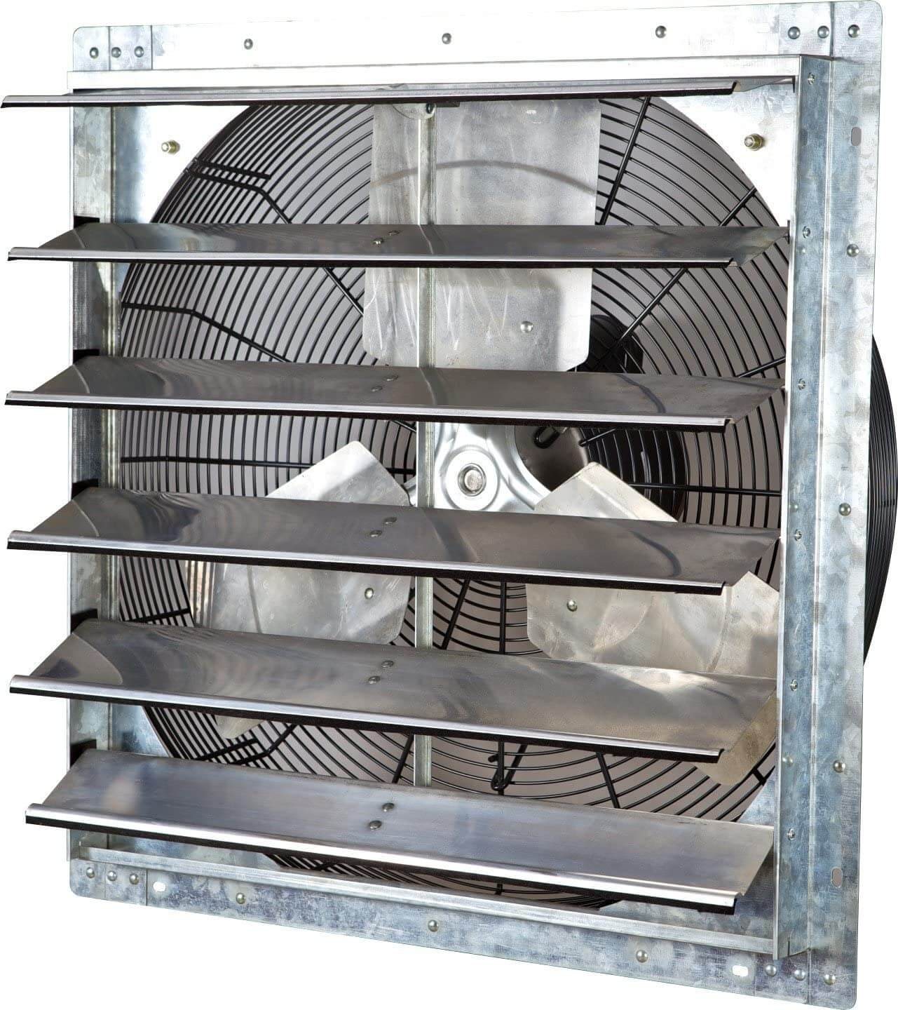 """24"""" Wall Mounted Exhaust Fan by iLiving"""