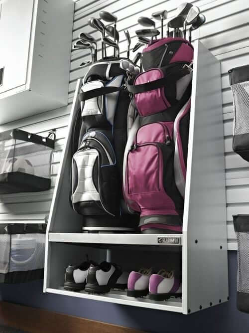 MAKE EASY TO ACCESS CABINET STORAGE FOR GARAGE