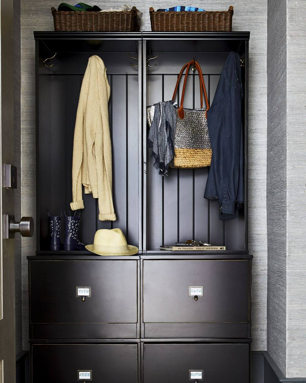 MUDROOM CABINET GARAGE STORAGE DESIGN IDEAS