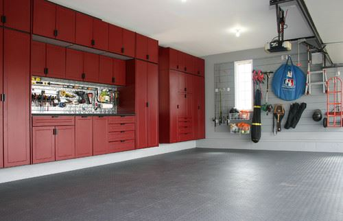 OFF THE FLOOR GARAGE STORAGE CABINET DESIGN IDEAS
