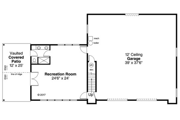 A COUNTRY STYLE GARAGE FLOOR PLANS IDEAS
