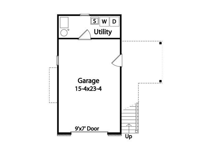 APARTMENT GARAGE FLOOR PLANS 1