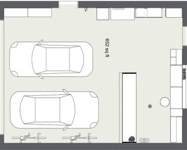 GARAGE FLOOR PLANS WITH A BAR