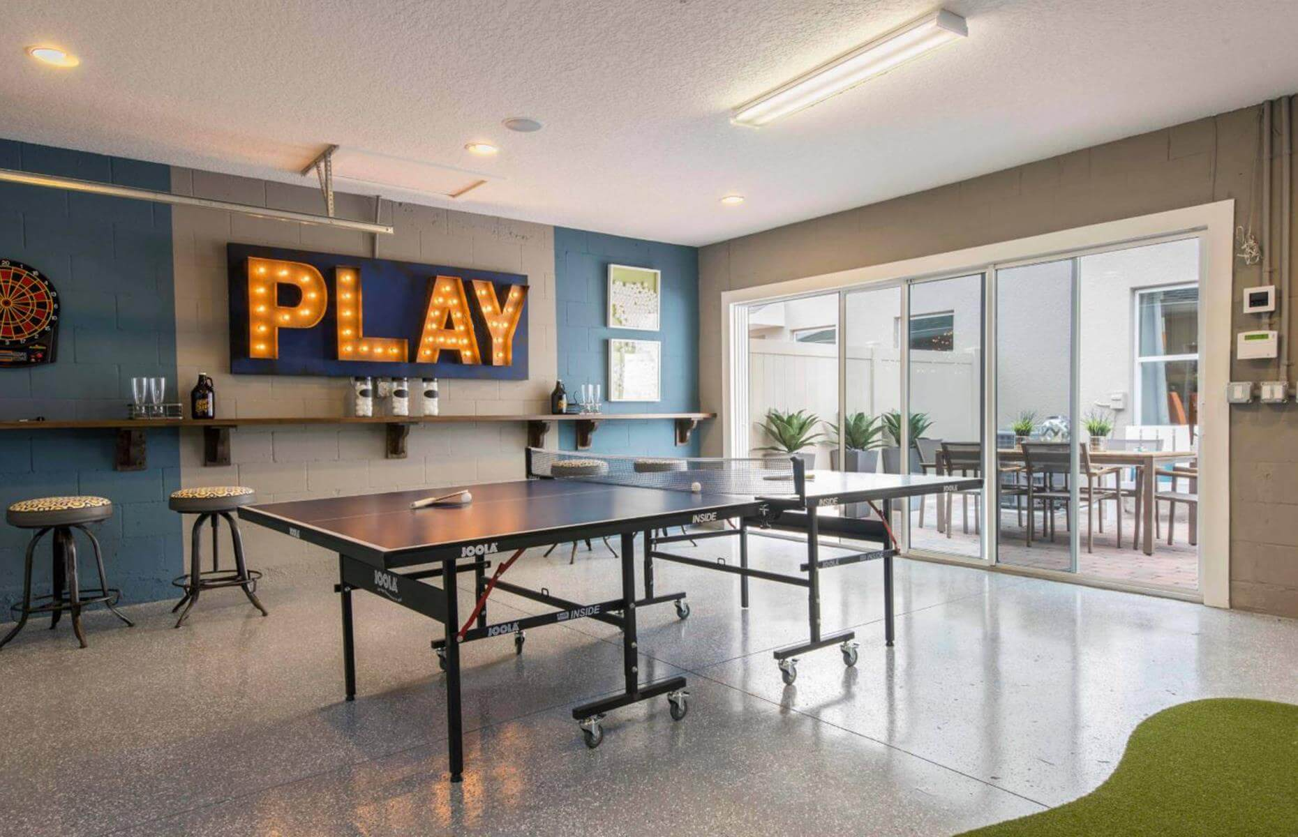 KEEP FUN GARAGE MAKEOVER LIVING SPACES