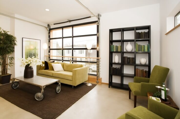 LIGHT AND AIRY GARAGE MAKEOVER LIVING SPACES IDEAS