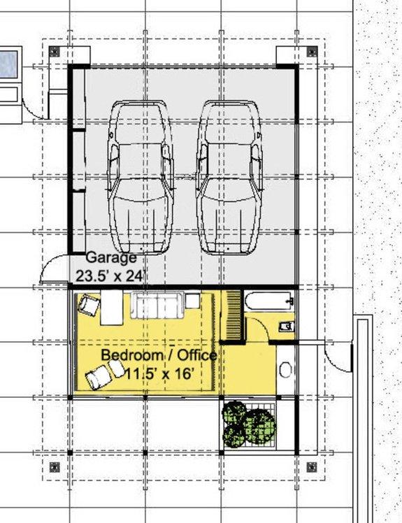 RANCH GARAGE FLOOR PLANS