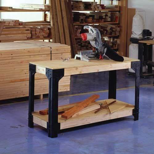 CUSTOM WORK BENCH AND SHELVING GARAGE STORAGE SYSTEMS