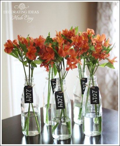 CUTE CENTERPIECE GARAGE DECORATION IDEAS FOR PARTY