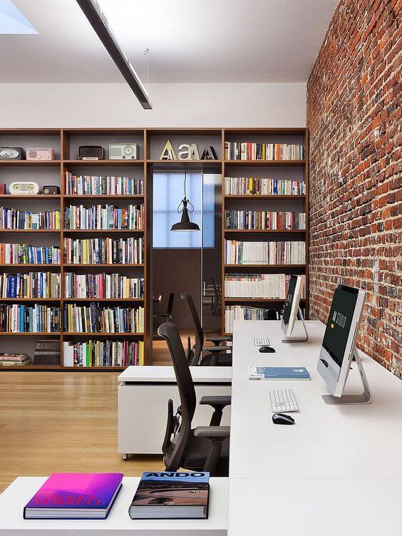 GARAGE MAKEOVER TO INDUSTRIAL OFFICE IDEAS