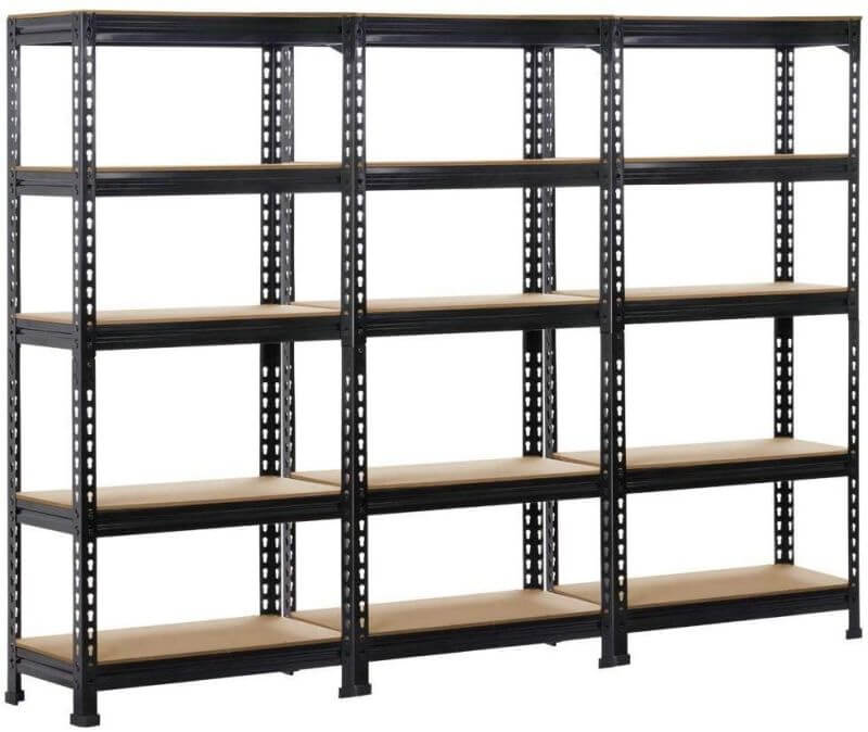 GARAGE SHELVING UNIT ADJUSTABLE STORAGE SYSTEMS
