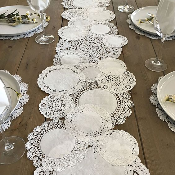 UNIQUE TABLE RUNNER GARAGE DECORATING IDEAS FOR PARTY