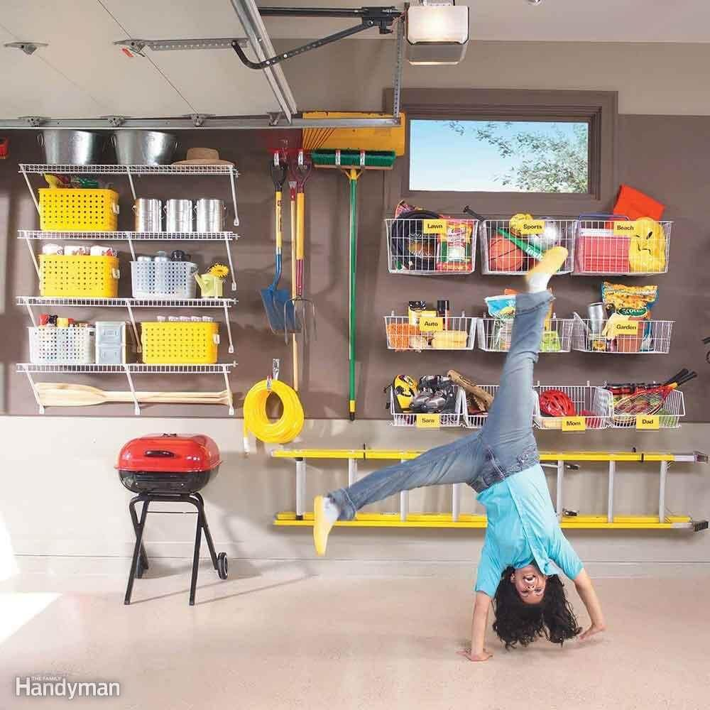 CREATIVE WAYS TO ORGANIZE 2 CAR GARAGE WITH SHELVING