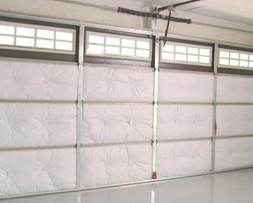 HOW TO INSULATE A GARAGE DOOR PROPERLY