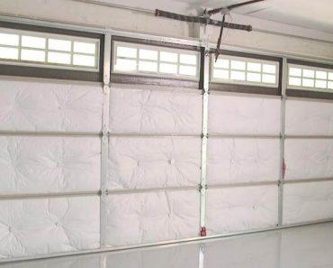 HOW TO INSULATE A GARAGE DOOR PROPERLY