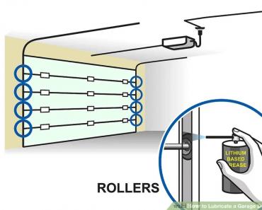 HOW TO LUBRICATE GARAGE DOOR STEP BY STEP