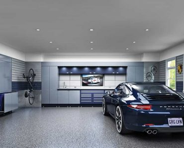 STANDARD 2 CAR GARAGE SIZE AND CREATIVE WAYS TO ORGANIZE