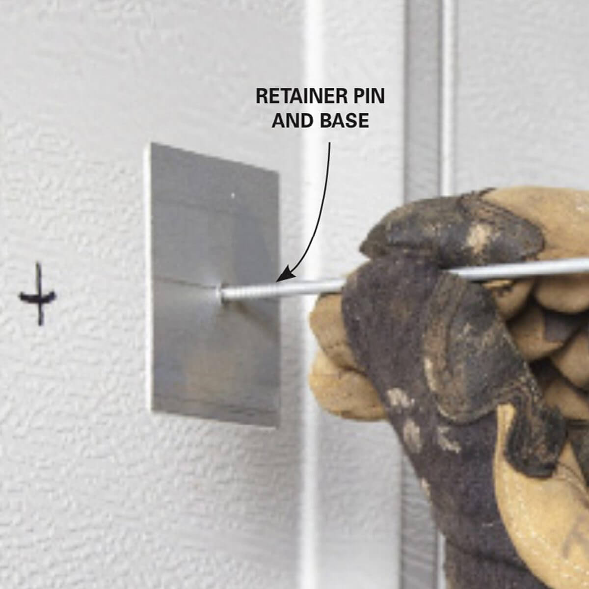 STEP BY STEP HOW TO INSULATE A GARAGE DOOR