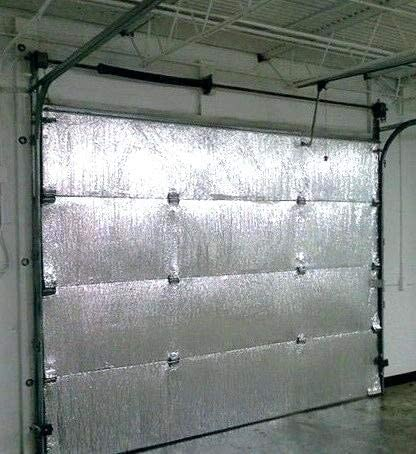 WHY YOU NEED INSULATE A GARAGE DOOR