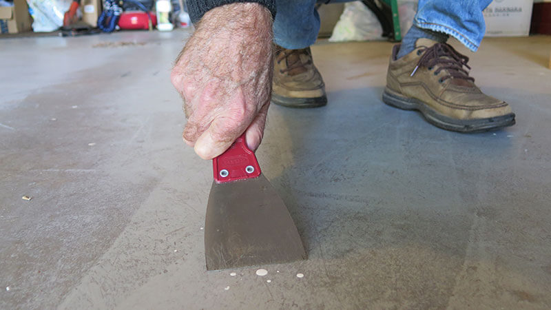 REWOCW PAINT STAIN FOR GARAGE FLOOR CLEANING