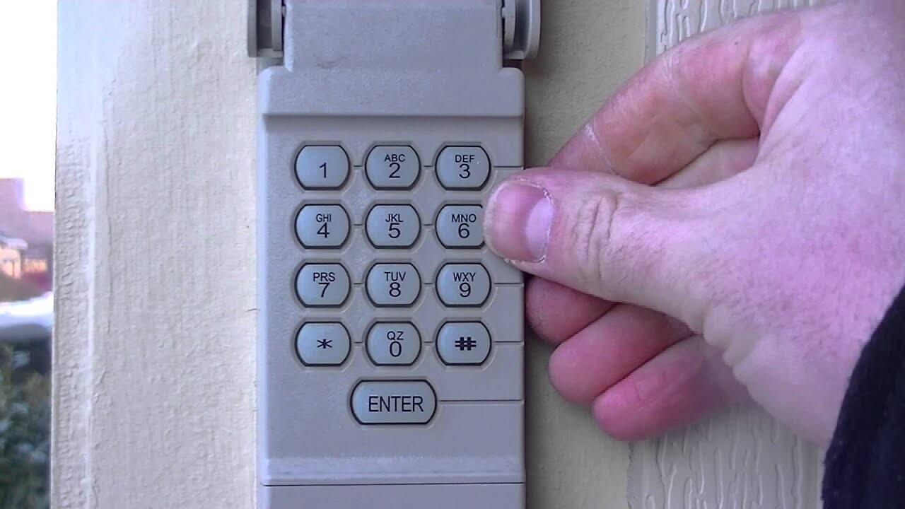 STEP 3 HOW TO CHANGE GARAGE DOOR CODE - PROVIDE NEW CODE