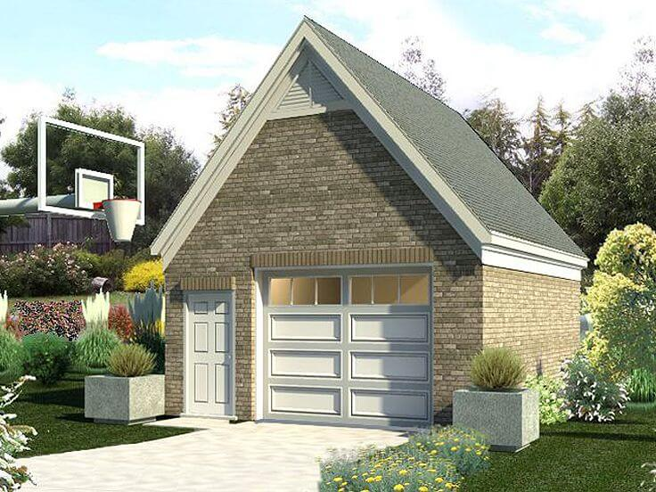 COST TO BUILD GARAGE APARTMENT WITH GABLE ROOF