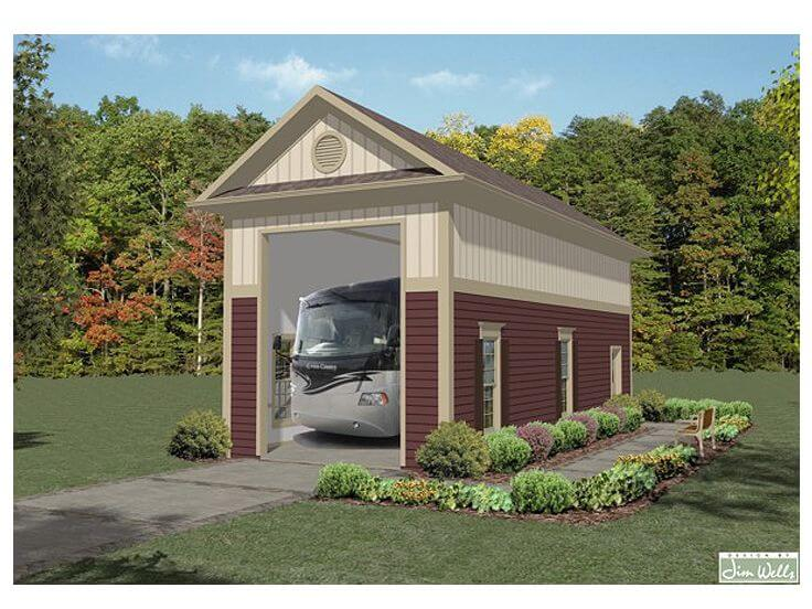 GARAGE FOR RV DESIGN PLANS AND COSTS